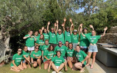 La course écologique : Le sud de la Grèce a aussi ses héros scouts!!!